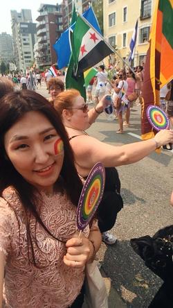 벤쿠버에서 꼭 해야하는 것 - Gay Pride 축제 즐기기
