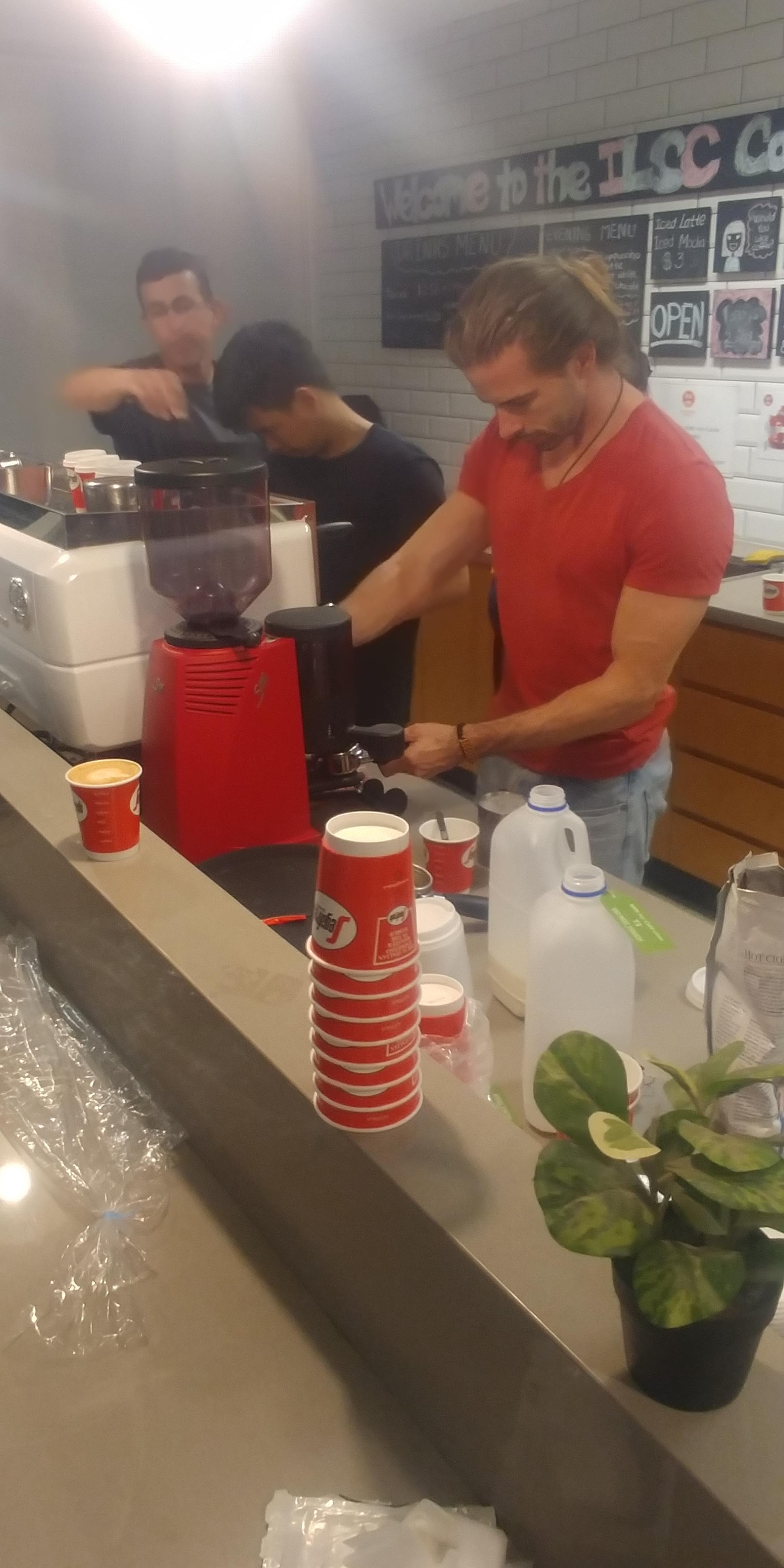 [ILSC-½Ãµå´Ï]3Æí: coffee baristar class°¡ ³Ê¹« Àç¹ÌÀÖ¾î¿ä!!