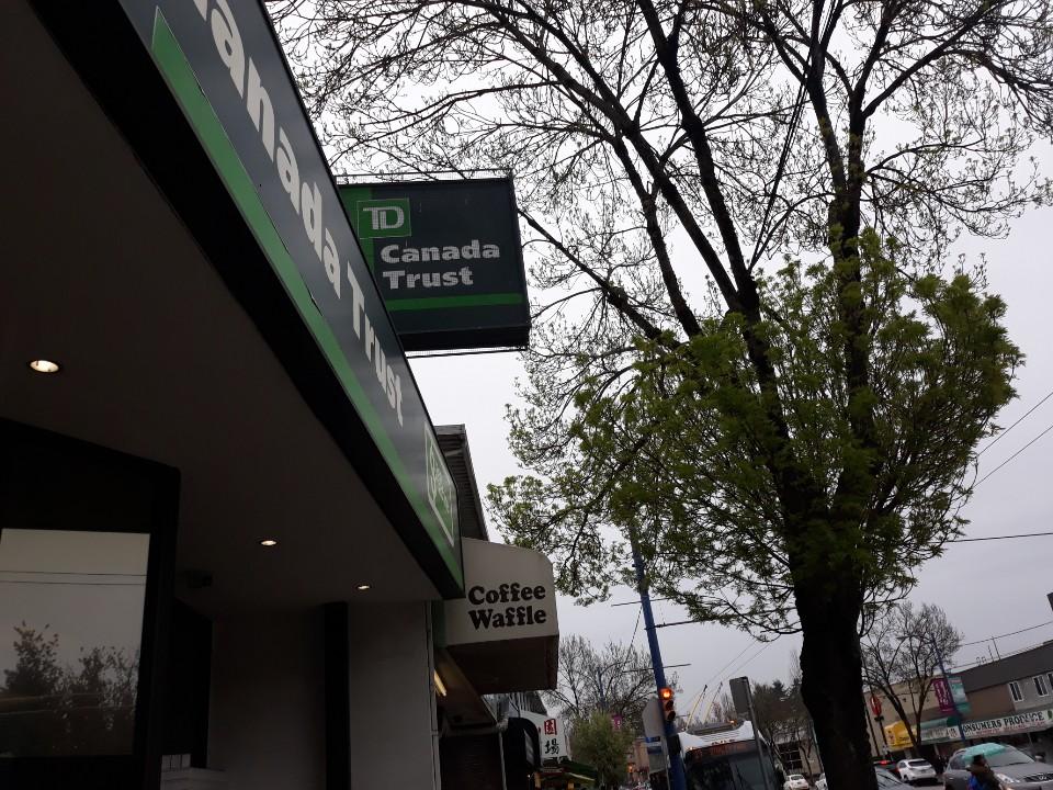 캐나다의 ATM기 사용방법