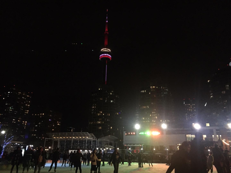 토론토 ILAC 27_ 아이스스케이팅 즐기기